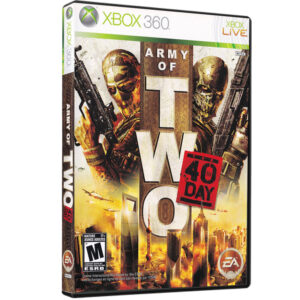 بازی Army of Two The 40th Day مخصوص XBOX 360